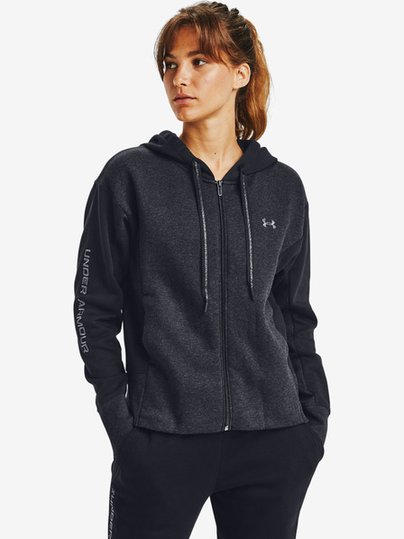 Under Armour Rival Fleece Embroidered Full Zip Sweatshirt