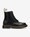 Dr. Martens 1460 Double Stitch Leather Lace Up Ankle boots