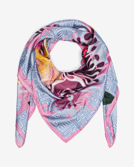 Philipp Plein Light Strawberry Scarf
