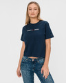 Tommy Jeans Moder Linear Logo Crop top