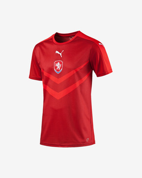Puma Czech Republic Replica Home Kids T-shirt
