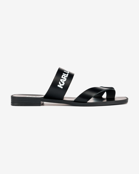 Karl Lagerfeld Skoot II Toe Loop Strap Sandals