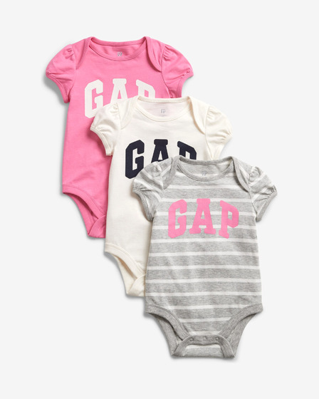 GAP Logo Kids Body 3 pcs