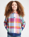 GAP Logo Plaid Kids Sweatshirt
