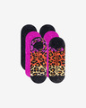 Converse Ombre Colorblock Archive Leopard MFC Ox Set of 3 pairs of socks
