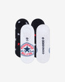 Converse Chuck Patch Knit-In MFC Ox Set of 2 pairs of socks