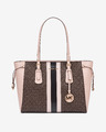 Michael Kors Voyager Medium Logo Handbag