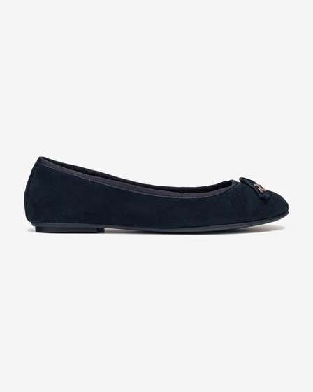 Tommy Hilfiger Essential Suede Ballet pumps